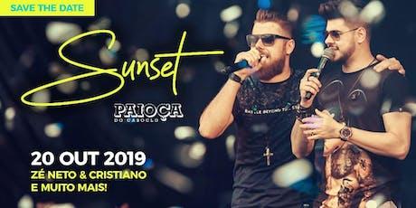 Zé Neto e Cristiano - Sunset Paioça do Caboclo ingressos
