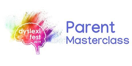 DyslexiFest Parent Masterclass tickets