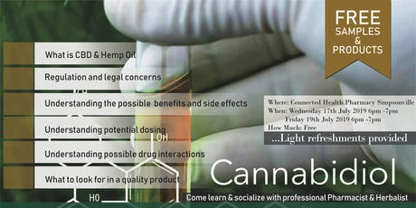 Lets talk about CBD and Hemp oil tickets