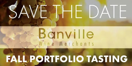 Banville Wine Merchants Portfolio Tasting tickets