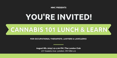 Cannabis 101 Lunch & Learn  tickets