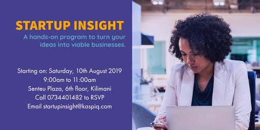 StartUp Insight: Build your Business