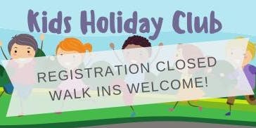 Kids Holiday Club 2019
