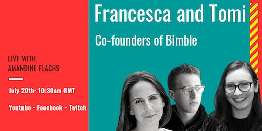 [Online event] Ask anything to Francesca and Tomi, co-founders of Bimble