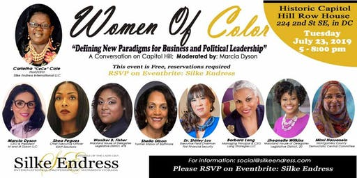 "Women of Color: ""Defining New Paradigms for Business and Political Leadership"""