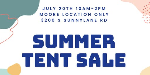 Tent Sale (30-60 % off)