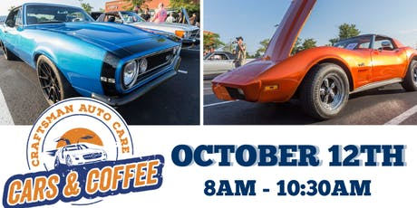 Cars & Coffee - Craftsman Auto Care tickets