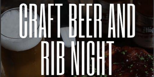 Craft Beer and Rib Night