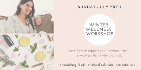Winter Wellness Workshop tickets