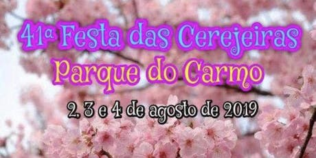 41ª Festa das Cerejeiras do Parque do Carmo ingressos