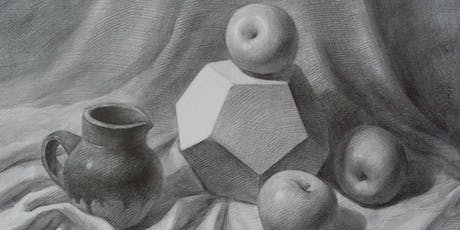 Free Introductory  Art Class- Still life Drawing  tickets