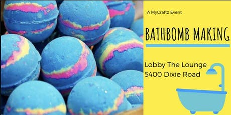 DIY Bath-Bomb tickets