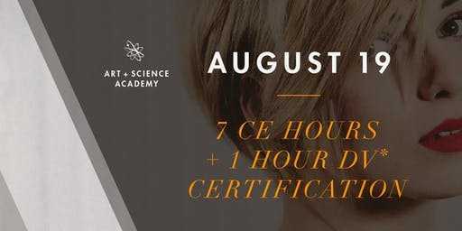 Art + Science Academy - 7 CEU Hours + 1HR Domestic Violence Certification