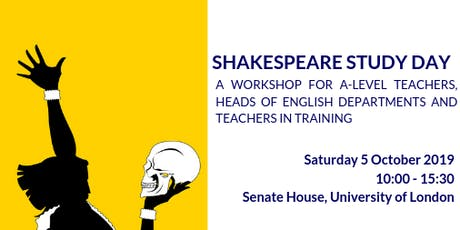 Shakespeare Study Day for A Level Teachers tickets