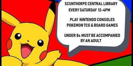Pokemon & Saturday Gaming Club tickets