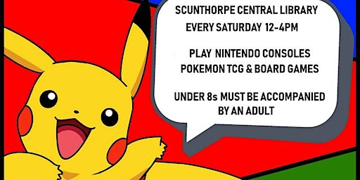 Pokemon & Saturday Gaming Club