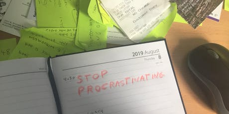 How to Beat Procrastination tickets
