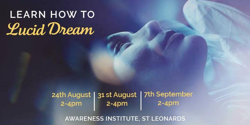 Learn how to Lucid Dream!