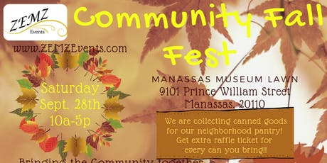 Manassas Community Fall Fest tickets