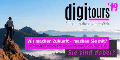 digitours ´19 Technische Hochschule Rosenheim Tickets