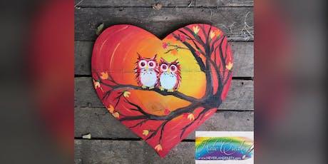 Fall Owls! Glen Burnie, Sidelines with Artist Katie Detrich! tickets