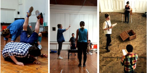 Pentabus Young Company Workshop - Making Theatre from Scratch