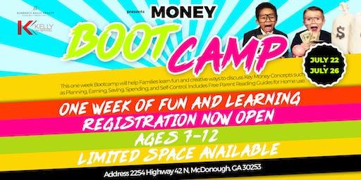 Money as You Grow - Money Boot Camp Georgia - Ages 7-12