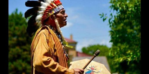 Drumming with Chief Standing Cloud and Guests