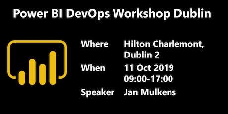 Power BI DevOps Workshop Dublin tickets