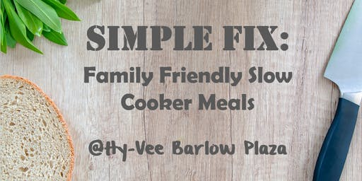 Simple Fix: Family Friendly Slow Cooker Meals