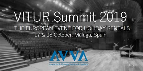 VITUR Summit 2019: the European Event for Holiday Rentals tickets