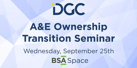 A&E Ownership Transition Seminar tickets