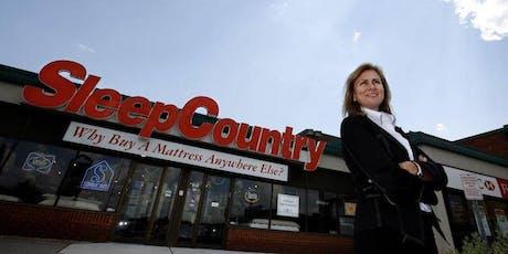 """女仕界Presents """"An Evening with Christine Magee, Founder and President of Sleep Country"""" tickets"""