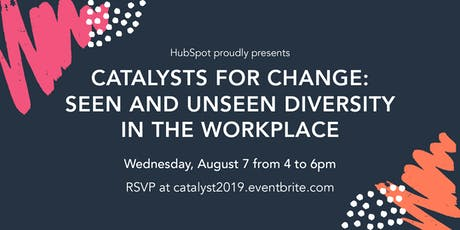 Catalysts for Change: Seen and Unseen Diversity in the Workplace tickets