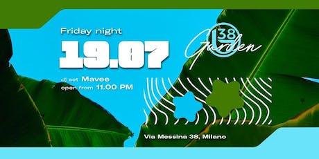 B38 CLUB MILANO EX BYBLOS - VENERDI 19 LUGLIO 2019 - SUMMER GARDEN SEASON 2019 - LISTA MIAMI - LISTE E TAVOLI AL 338-7338905 biglietti