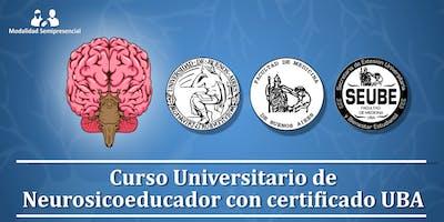 Inicio septiembre 2019: Curso Universitario de Neurosicoeducador con certificado UBA
