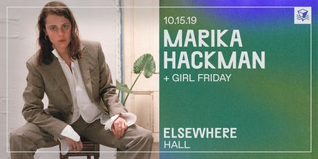 Marika Hackman @ Elsewhere (Hall) tickets