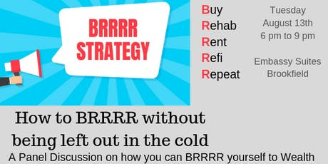 MKE REIA GM - How to BRRRR Without Being Left Out in the Cold tickets