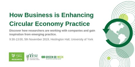 How business is enhancing Circular Economy practice tickets