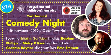Forget Me Not Comedy Night 2019 tickets