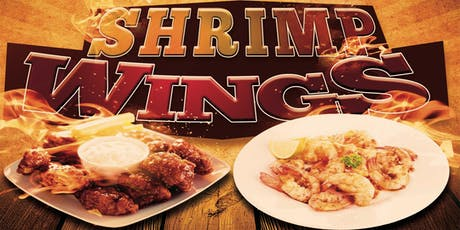 Toys 4 Tots AYCE Shrimp & Smoked Wings tickets