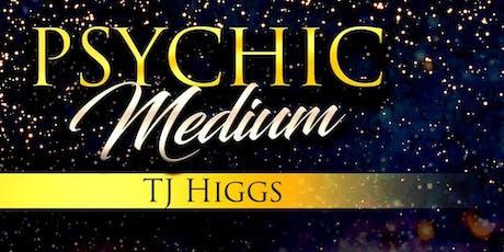 An Evening of Mediumship with Global Medium TJ Higgs tickets
