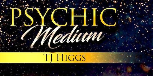 An Evening of Mediumship with Global Medium TJ Higgs