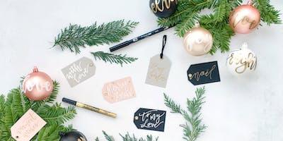 Luxury Christmas Hand-Lettering Workshop