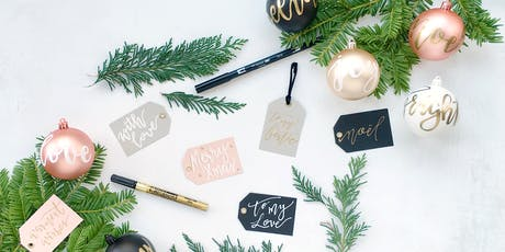 Luxury Christmas Hand-Lettering Workshop tickets