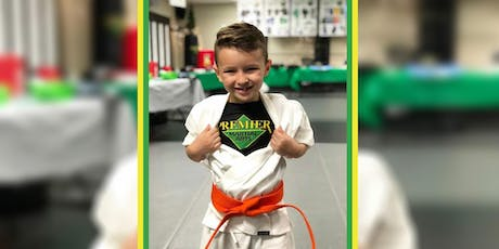 Kids FREE Intro to Martial Arts Workshop at 10am or Noon! Franklin Location tickets