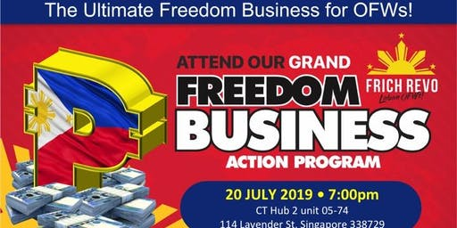GRAND FREEDOM BUSINESS ACTION PROGRAM