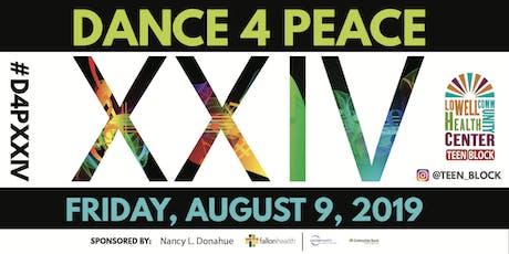 Dance 4 Peace XXIV tickets