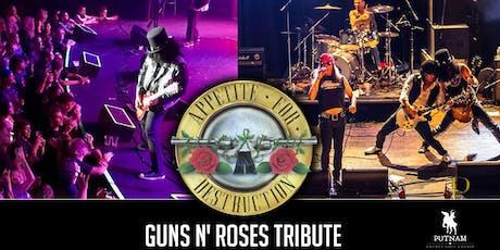 Appetite for Destruction - Guns N' Roses tickets