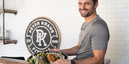 Peter Kraus Fitness X Red Sushi and Ivy Illustrates